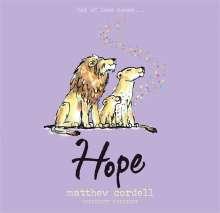 Matthew Cordell: Hope, Buch