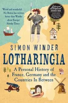 Simon Winder: Lotharingia, Buch