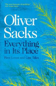 Oliver Sacks: Everything in Its Place, Buch