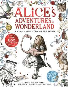 Lewis Carroll: Alice's Adventures in Wonderland: A Colouring Transfer Book, Buch