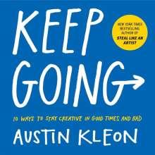 Austin Kleon: Keep Going, Buch