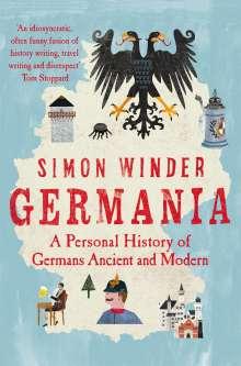 Simon Winder: Germania, Buch