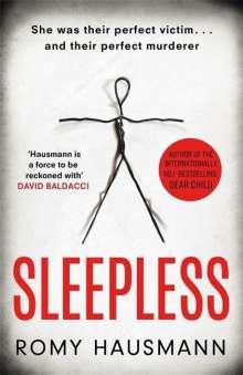 Romy Hausmann: Sleepless, Buch
