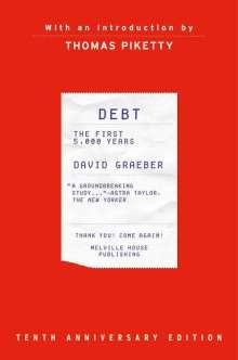 David Graeber: Debt, Tenth Anniversary Edition: The First 5,000 Years, Buch