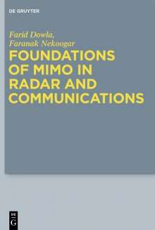 Farid Dowla: Foundations of MIMO in Radar and Communications, Buch