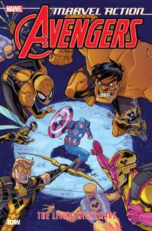 Matthew K. Manning: Marvel Action: Avengers: The Living Nightmare, Buch
