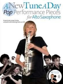 A New Tune A Day: Pop Performance Pieces - Alto Saxophone, Noten