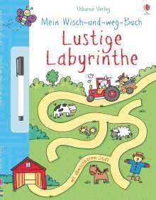 Jessica Greenwell: Mein Wisch- und Weg- Buch: Lustige Labyrinthe, Buch