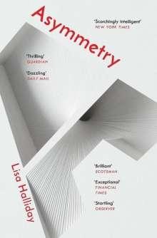 Lisa Halliday: Asymmetry, Buch