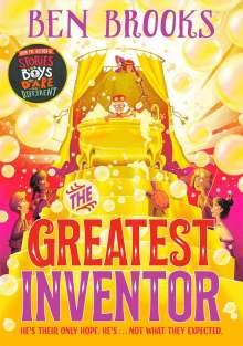Ben Brooks: The Greatest Inventor, Buch