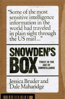 Jessica Bruder: Snowden's Box, Buch