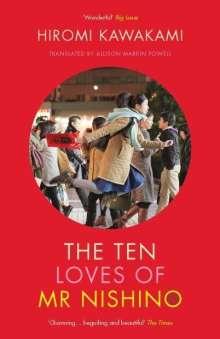 Hiromi Kawakami: The Ten Loves of Mr Nishino, Buch