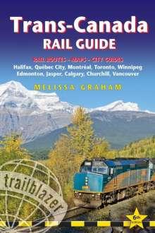 Melissa Graham: Trans-Canada Rail Guide, Buch