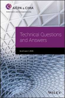 Aicpa: Technical Questions and Answers, Buch
