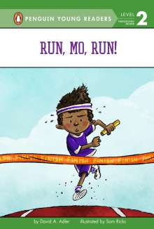 David A. Adler: Run, Mo, Run!, Buch