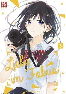 Yoko Nogiri: Liebe im Fokus - Band 3 (Finale), Buch
