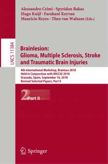 Brainlesion: Glioma, Multiple Sclerosis, Stroke and Traumatic Brain Injuries, Buch