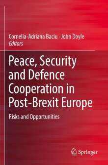 Peace, Security and Defence Cooperation in Post-Brexit Europe, Buch