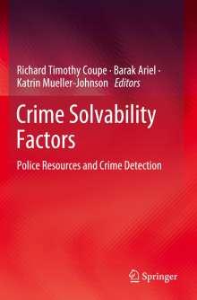 Crime Solvability Factors, Buch