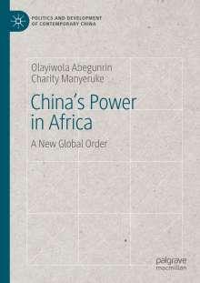 Charity Manyeruke: China's Power in Africa, Buch