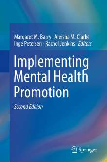 Implementing Mental Health Promotion, Buch