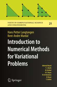 Hans Petter Langtangen: Introduction to Numerical Methods for Variational Problems, Buch