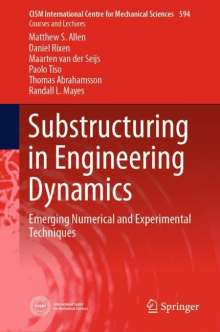 Thomas Abrahamsson: Substructuring in Engineering Dynamics, Buch