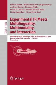 Experimental IR Meets Multilinguality, Multimodality, and Interaction, Buch