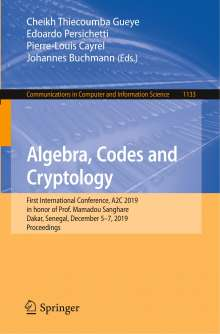Algebra, Codes and Cryptology, Buch
