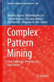Complex Pattern Mining, Buch