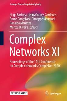 Complex Networks XI, Buch