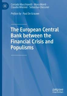 Sebastian Diessner: The European Central Bank between the Financial Crisis and Populisms, Buch