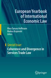 Coherence and Divergence in Services Trade Law, Buch