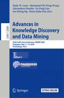 Advances in Knowledge Discovery and Data Mining, Buch