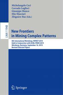 New Frontiers in Mining Complex Patterns, Buch