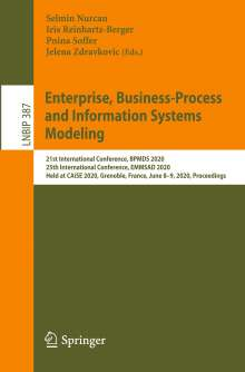 Enterprise, Business-Process and Information Systems Modeling, Buch
