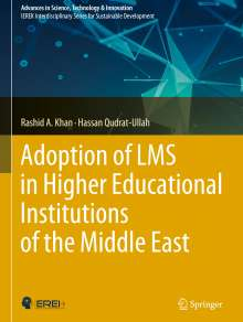 Rashid A. Khan: Adoption of LMS in Higher Educational Institutions of the Middle East, Buch