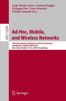 Ad-Hoc, Mobile, and Wireless Networks, Buch