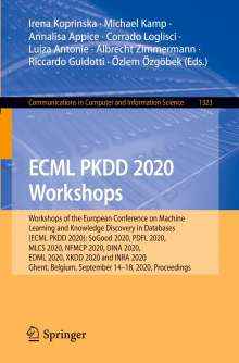 ECML PKDD 2020 Workshops, Buch
