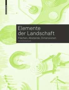 Astrid Zimmermann: Elemente der Landschaft, Buch