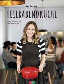 Zoe Torinesi: Feierabendküche, Buch