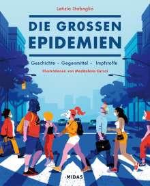 Letizia Gabaglio: Die großen Epidemien, Buch