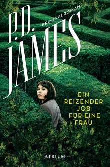 P. D. James: Ein reizender Job für eine Frau, Buch