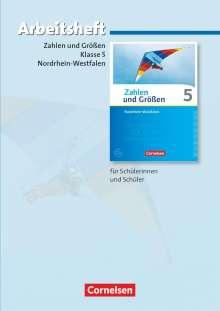 Ilona Gabriel: Zahlen und Größen 5. Schuljahr. Arbeitsheft mit eingelegten Lösungen. Nordrhein-Westfalen Kernlehrpläne, Buch