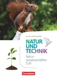 Volker Abegg: Naturwissenschaften Sekundarstufe I 5./6. Schuljahr. Schülerbuch  Berlin/Brandenburg, Buch