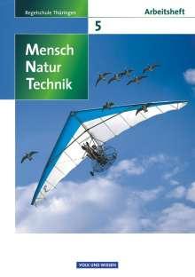 Karin Arnold: Mensch - Natur - Technik 5. Schuljahr.  Arbeitsheft. Regelschule Thüringen, Buch