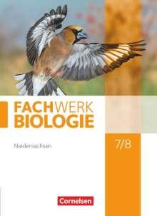 Udo Hampl: Fachwerk Biologie 7./8. Schuljahr. Schülerbuch. Niedersachsen, Buch