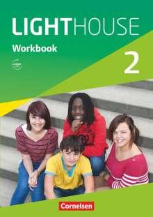 English G LIGHTHOUSE 02: 6. Schuljahr. Workbook mit Audios online, Buch