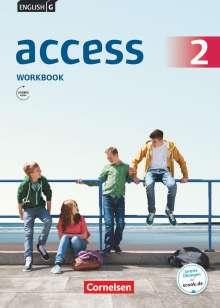 Jennifer Seidl: English G Access 6. Schuljahr. Allgemeine Ausgabe. Workbook mit Audios online, Buch