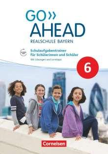 Gwen Berwick: Go Ahead 6. Jahrgangsstufe - Ausgabe für Realschulen in Bayern - Schulaufgabentrainer, Buch